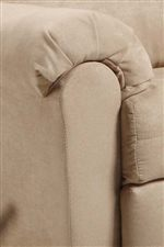 Pillow-Topped Rolled Arms Create Traditional Style with a Contemporary Edge