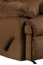 A Fully Padded Chaise and Pillow Topped Arms Supply Casual Comfort for Ideal Relaxation