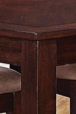 Beveled Edge Tables And Block Legs