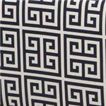 Amore Black and White Greek Key Pattern