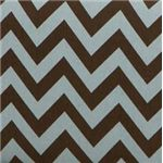 Brown and Blue Chevron Pattern