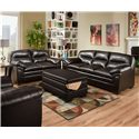 United Furniture Industries 3615 Stationary Living Room Group - Item Number: 3615 Stationary Living Room Group 2