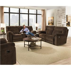 United Furniture Industries 50570 Reclining Living Room Group
