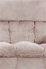 Sectioned cushion detailing
