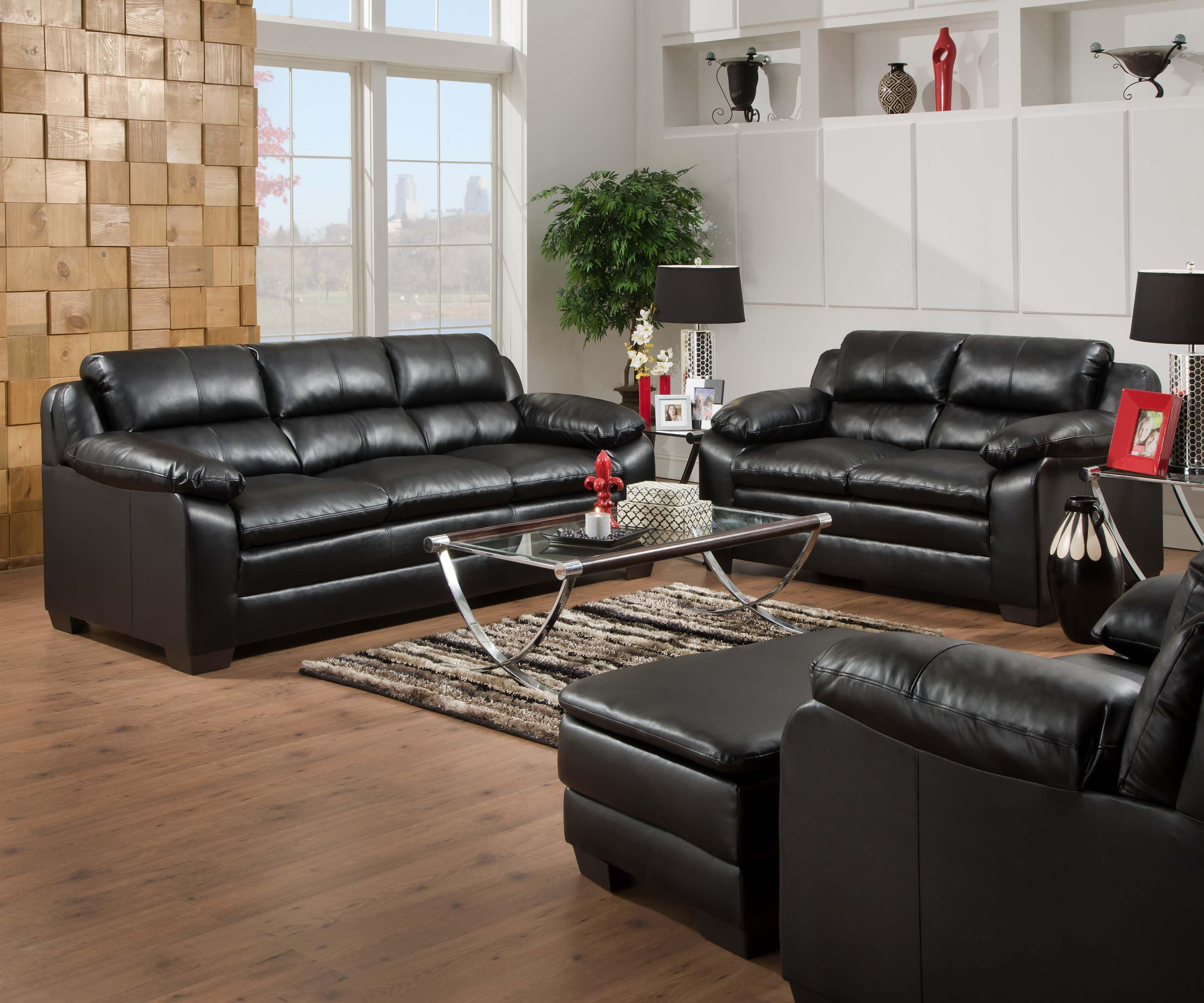United Furniture Industries 5066 Stationary Sofa and Loveseat Group - Item Number: 5066 Living Room Group 1