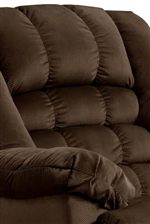 Pillow Topped Arms and Channeled Backs Create Casual Style with a Relaxing Comfort