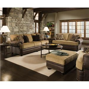 United Furniture Industries 7541 Stationary Living Room Group