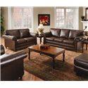 United Furniture Industries 8001 Stationary Living Room Group - Item Number: 8001 Living Room Group 1