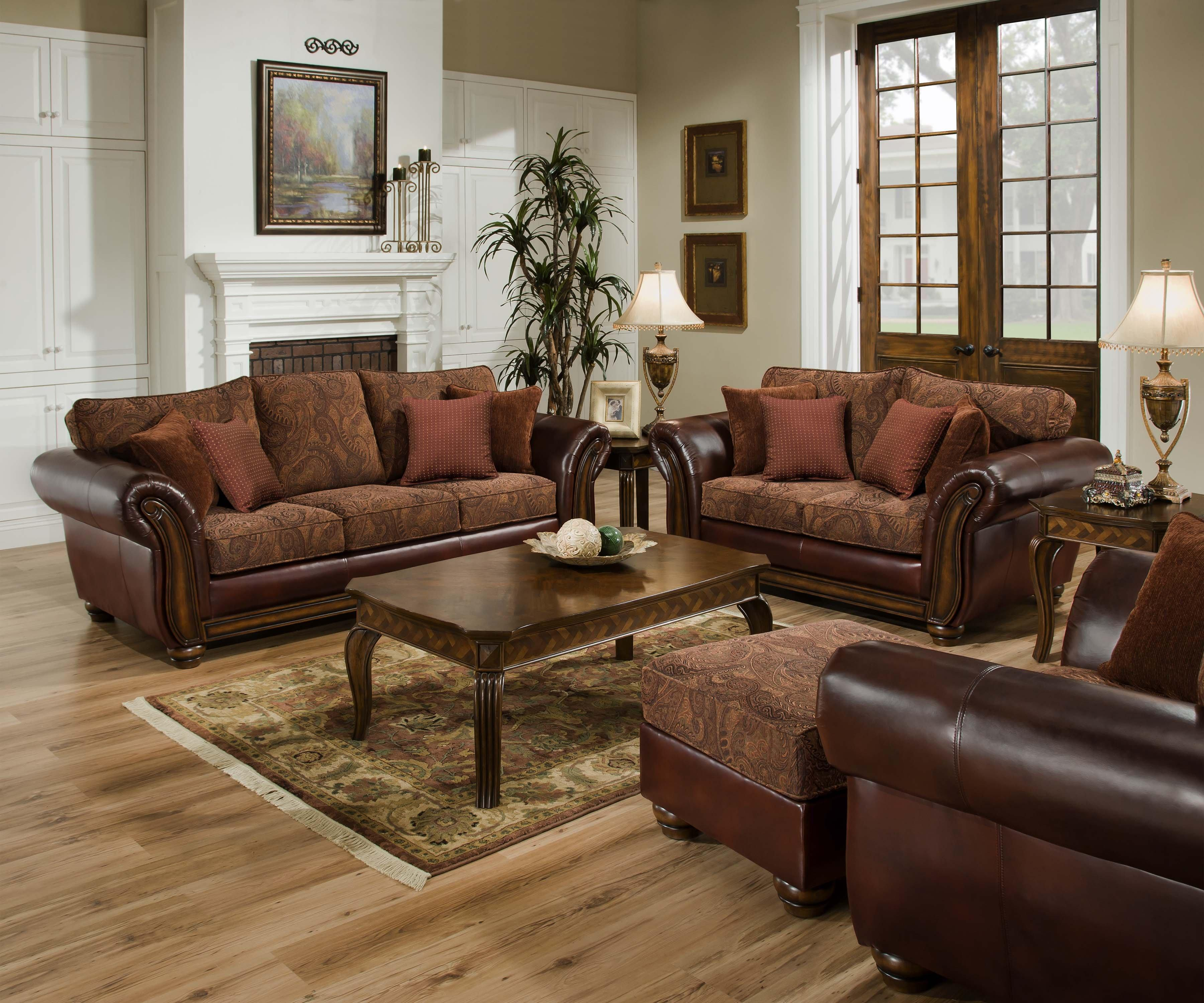 Latest United Furniture Industries Queen Leather And Chenille Hideabed Sofa  Sleeper Charleston Furniture Sleeper Sofas With Furniture Stores Near Reading  Pa
