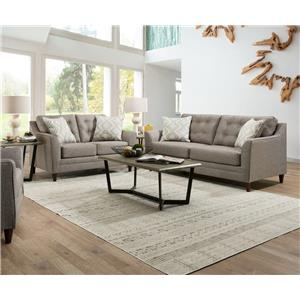 United Furniture Industries 8126 Stationary Living Room Group