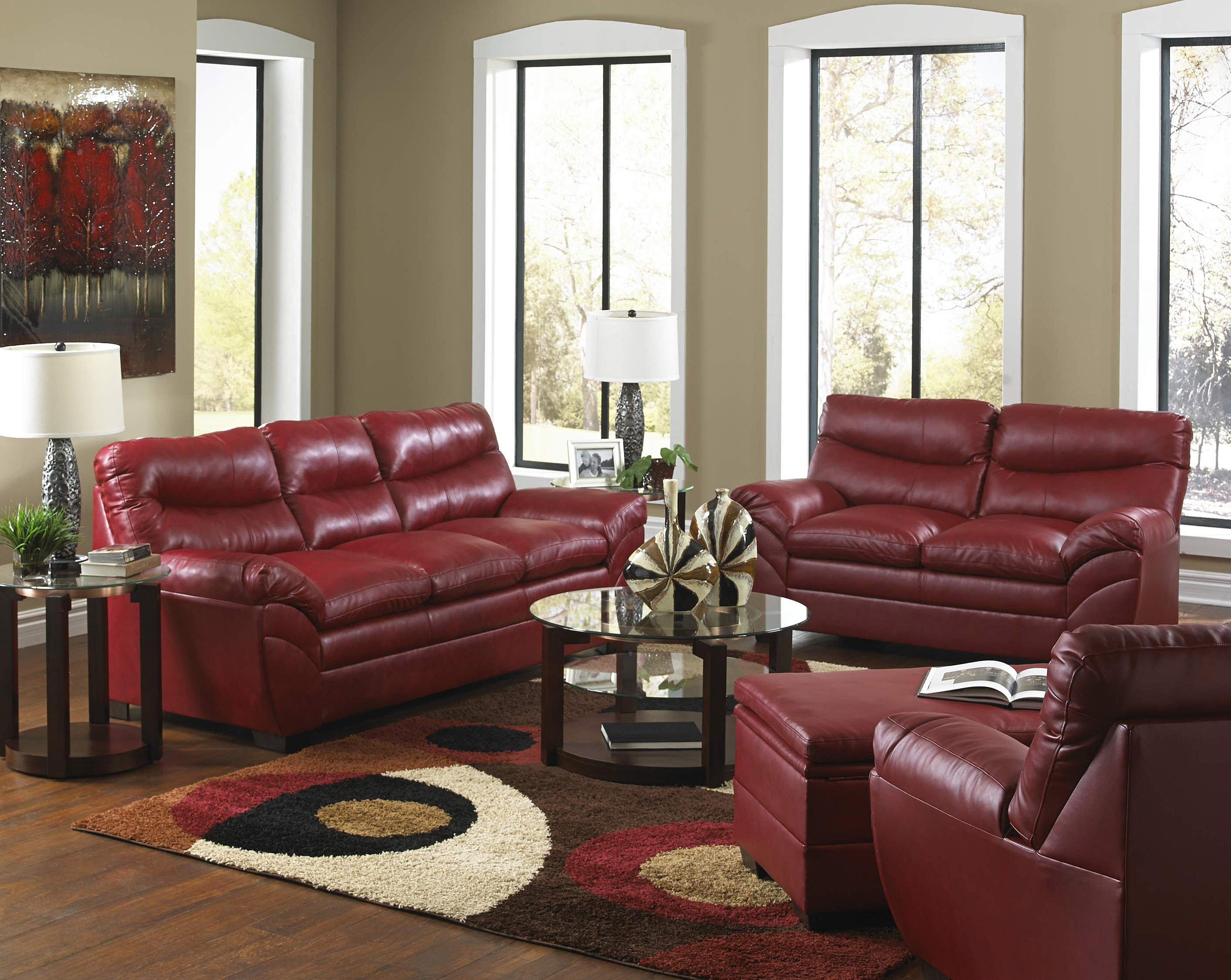 United Furniture Industries 9515 Casual Sectional Sofa | Bullard Furniture  | Sectional Sofas Fayetteville, NC