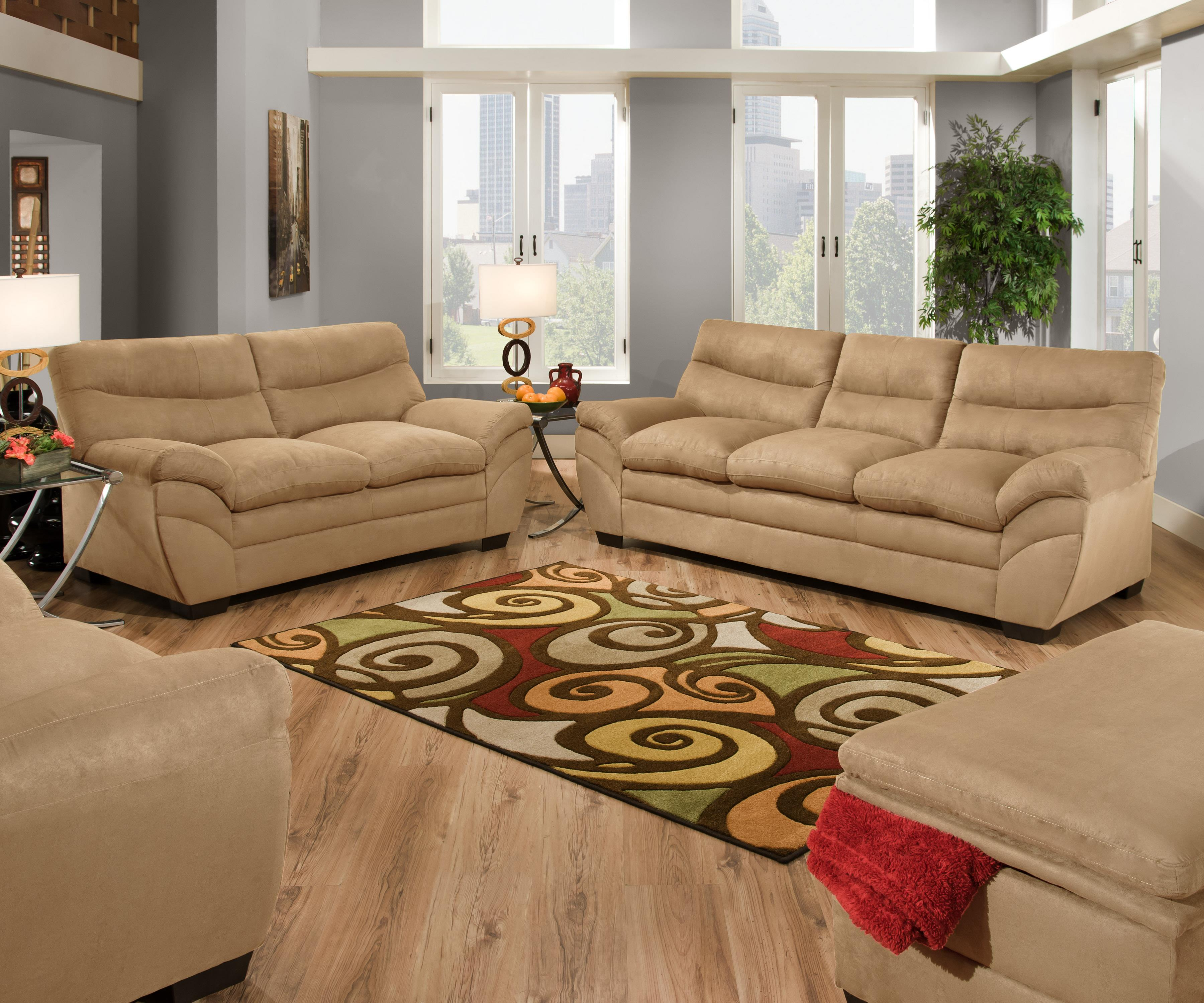 Delicieux United Furniture Industries 9515 Stationary Living Room Group |  Casa Leaders Inc. | Stationary