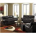 United Furniture Industries 9515 Stationary Living Room Group - Item Number: 9515 Onxy Living Room Group 1