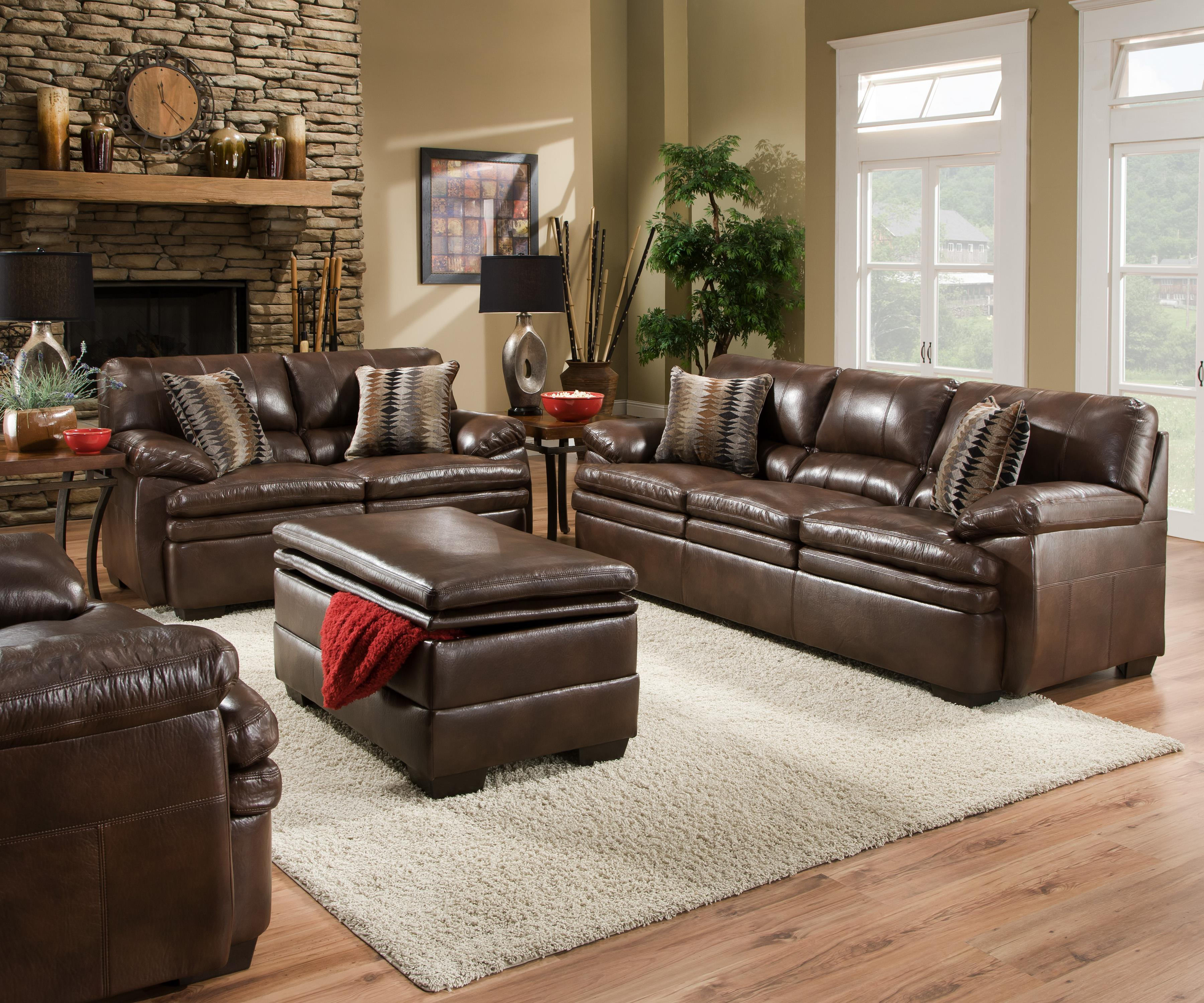 United Furniture Industries 9545 Stationary Living Room