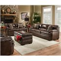 United Furniture Industries 9545 Stationary Living Room Group - Item Number: 9545 Living Room Group 1