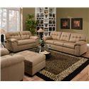 United Furniture Industries 9558 Stationary Living Room Group - Item Number: 9558 Living Room Group 2