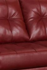 Features Beautiful Seat and Seat Back Tufting