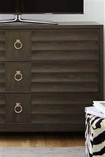 Concave Scalloped Drawer Fronts