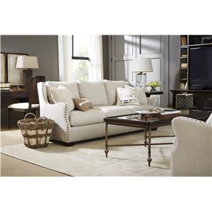 Morris Home Furnishings Connor Traditional Chair with Nail Head Trim