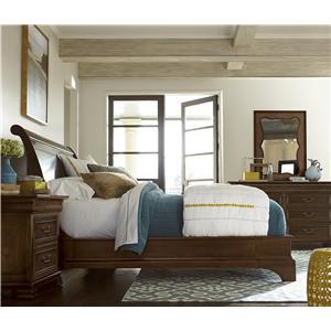 Universal Cordevalle Queen Santa Rosa Poster Bed