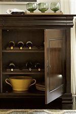 Enjoy Vertical Platter and Wine Bottle Storage