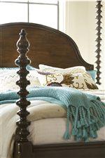 Detailed Bed Posts on Santa Rosa Bed