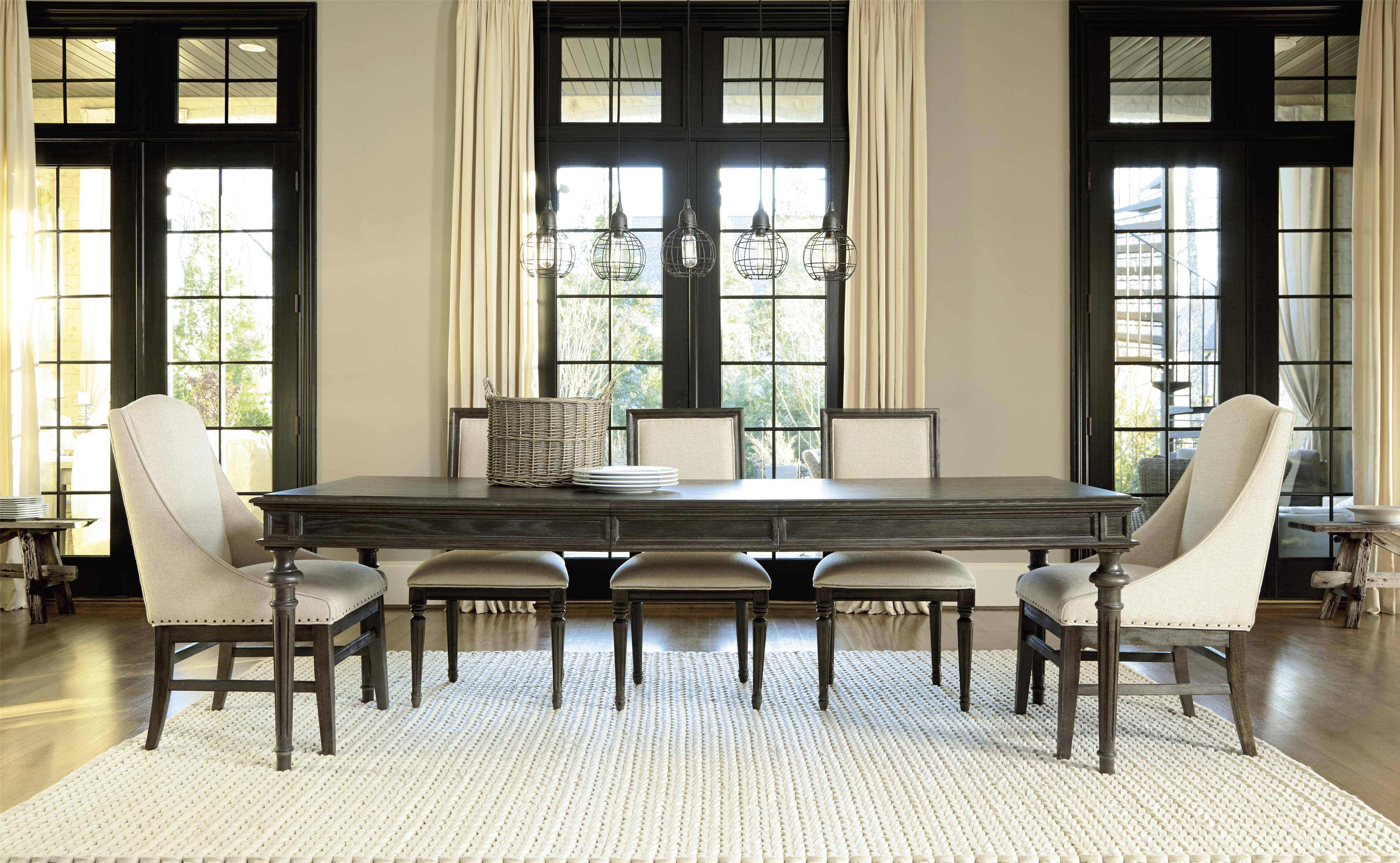Universal Curated Chelsea Kitchen Table With Trestle Base | Wayside  Furniture | Dining Tables