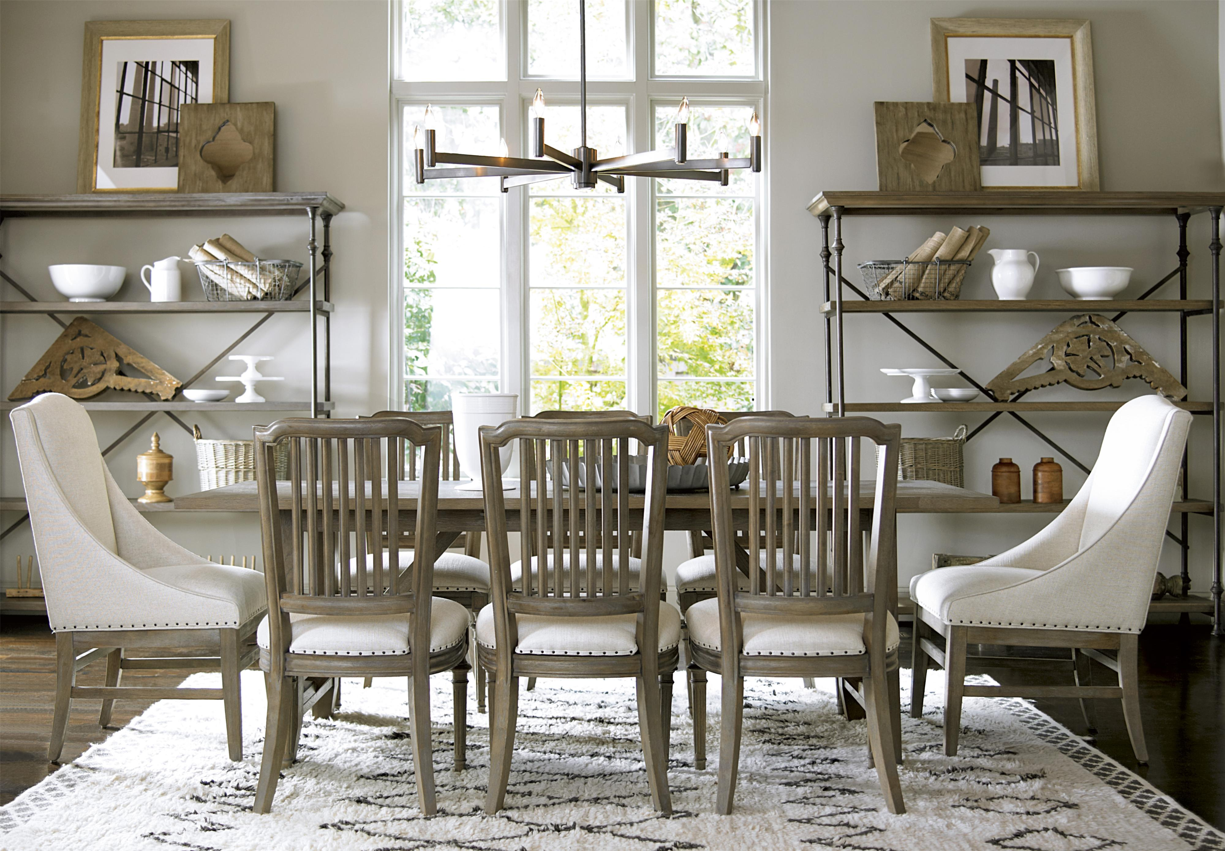 Universal Great Rooms - Berkeley 3 Formal Dining Room Group - Item Number: 316 Dining Room Group 1