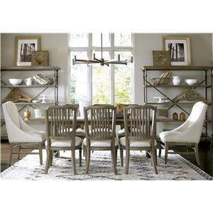 Morris Home Furnishings Great Rooms - Berkeley 3 Formal Dining Room Group