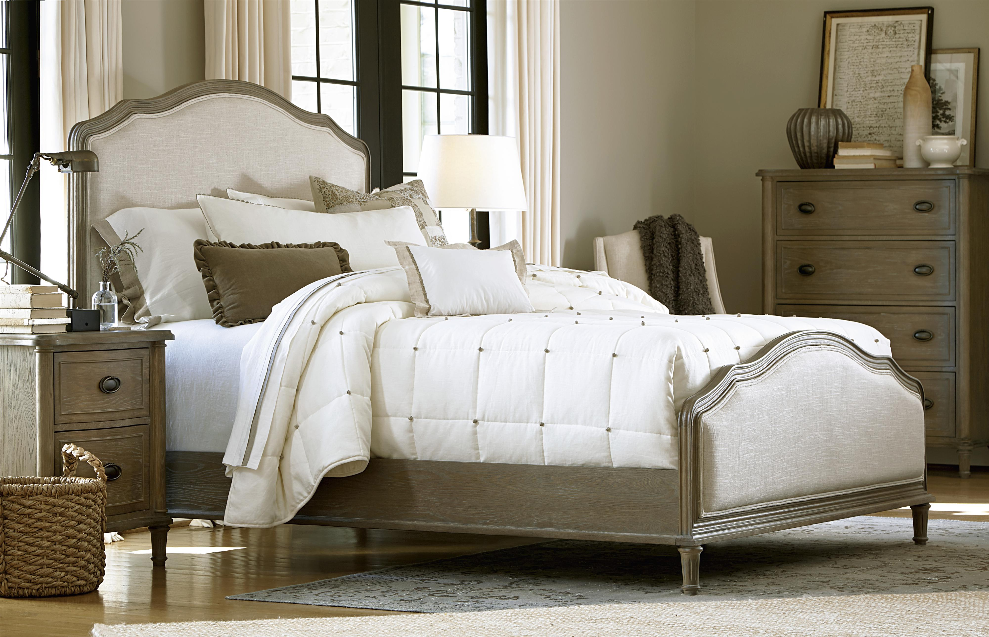 Universal Curated Queen Bedroom Group - Item Number: 326 Q Bedroom Group 1