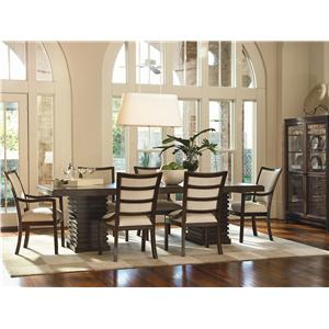 Universal Latitude Formal Dining Room Group
