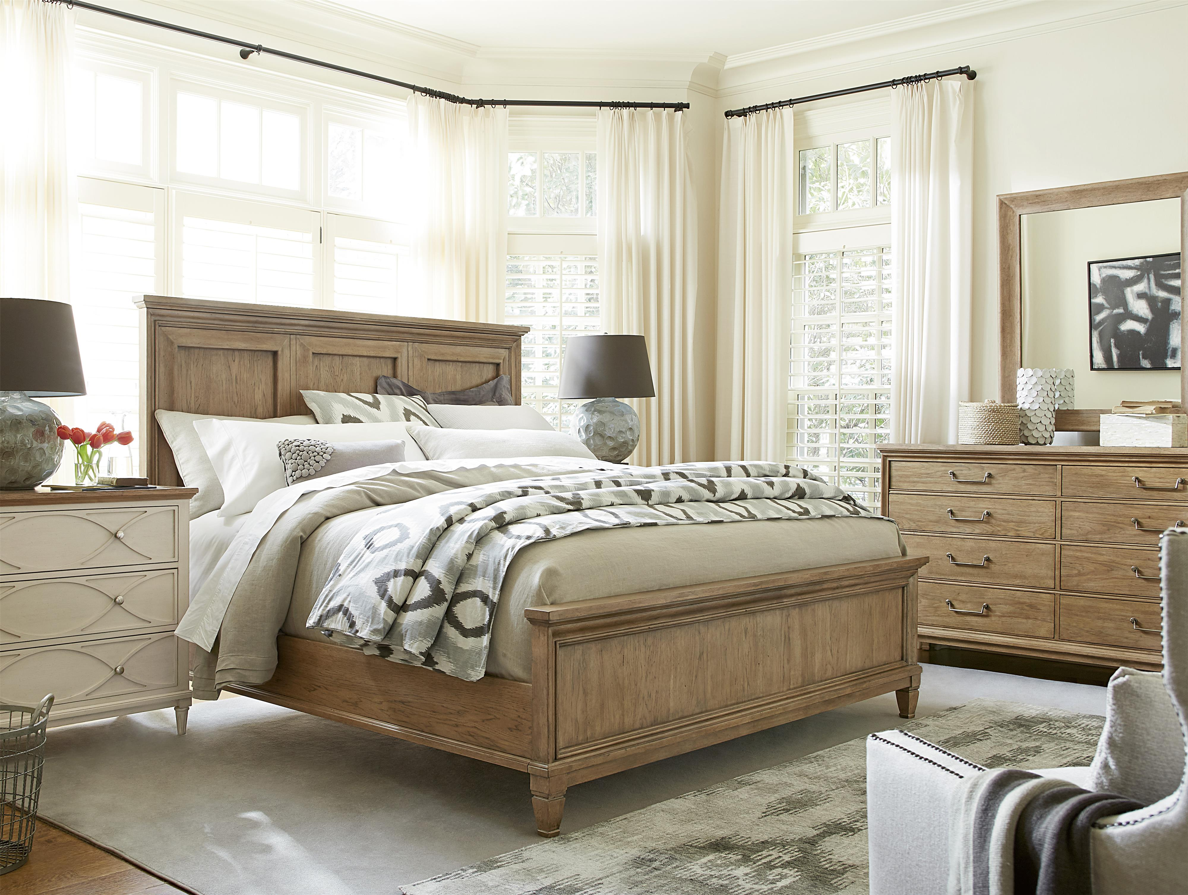 Universal Moderne Muse Queen Bedroom Group - Item Number: 414 Q Bedroom Group 2