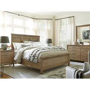 Morris Home Furnishings Moderne Muse Queen Bedroom Group
