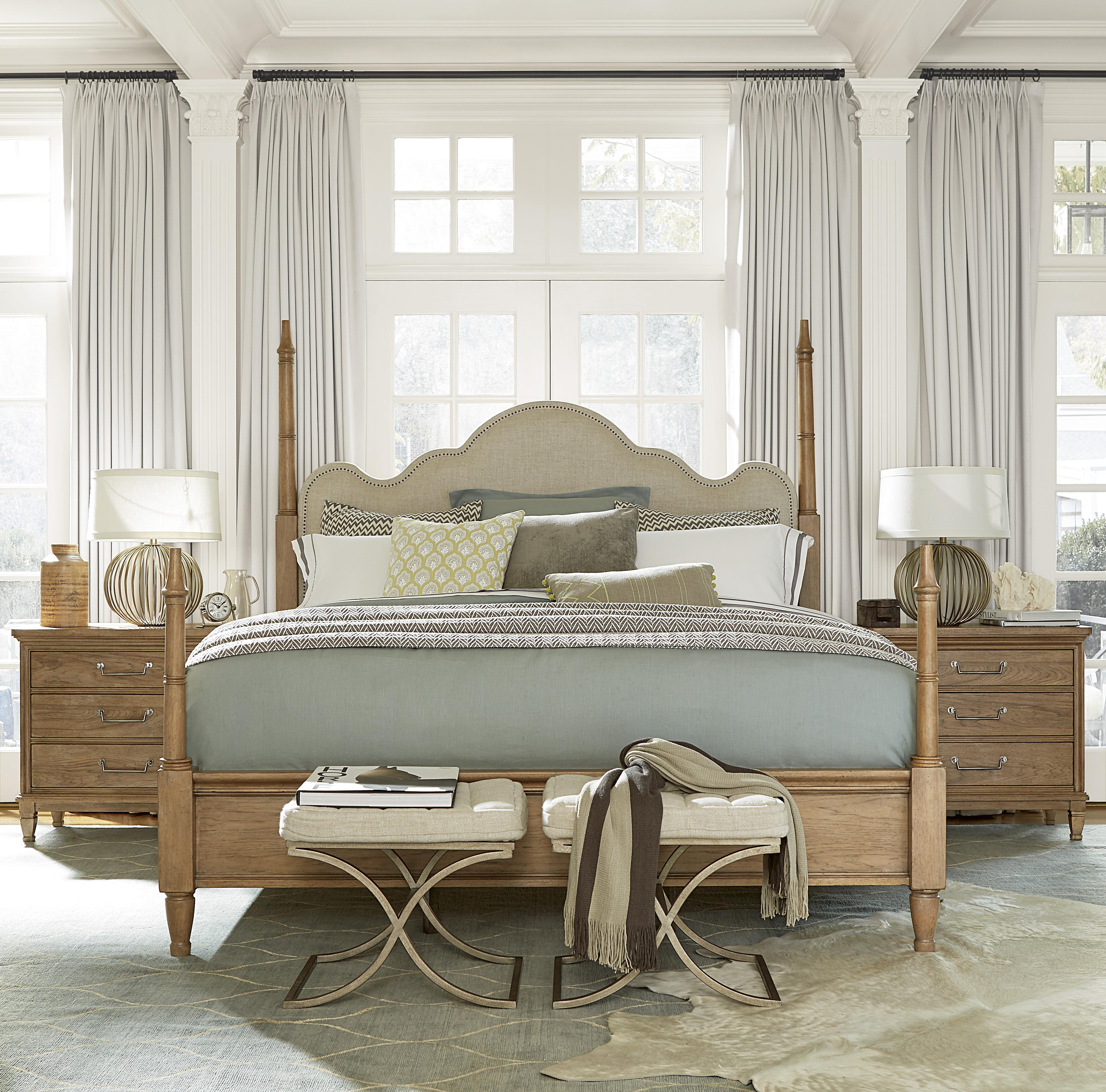 Universal Moderne Muse Queen Bedroom Group - Item Number: 414 Q Bedroom Group 4