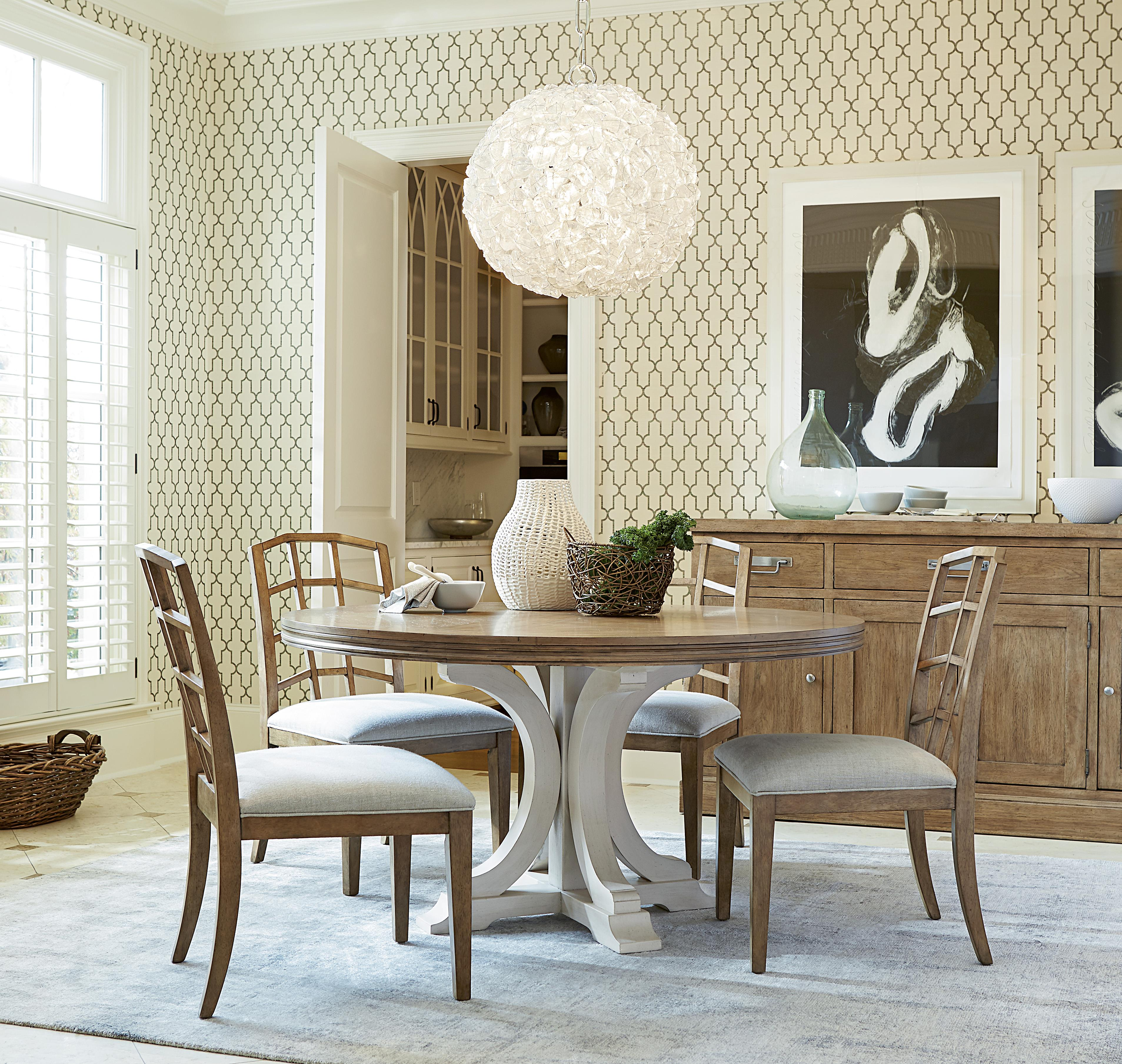 Universal Moderne Muse Casual Dining Room Group - Item Number: 414 Dining Room Group 2