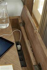 Lift-Lid Conceals Convenient Charging Station