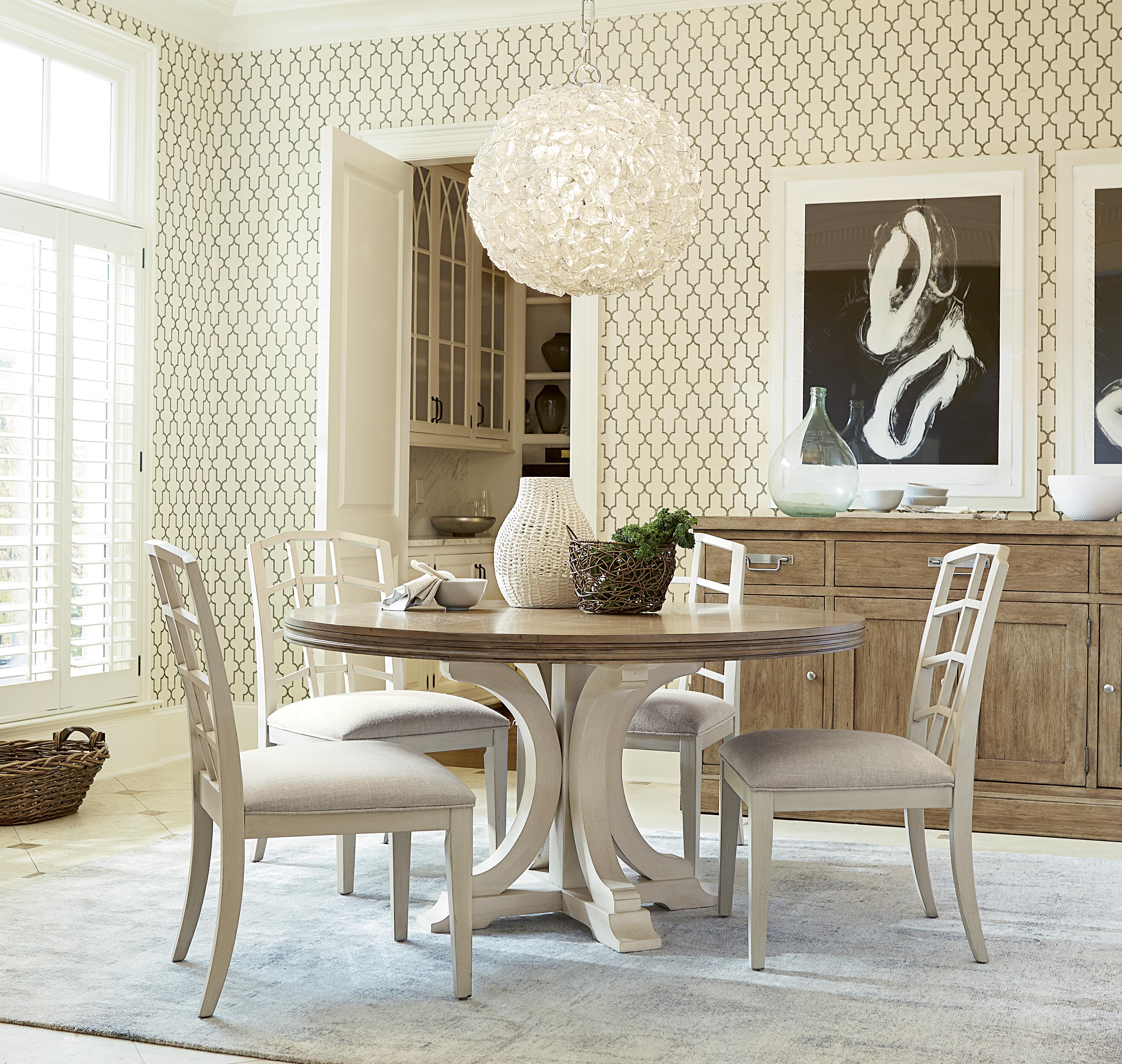 Universal Moderne Muse Casual Dining Room Group - Item Number: 414 Dining Room Group 3