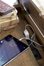 Innovative Features Like Built-In Power Outlets Ensure Modern Capabilities