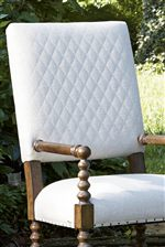 Diamond Quilting Suggests Livable Luxury