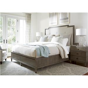 Universal Playlist California King Harmony Storage Bed with Upholstered Headboar
