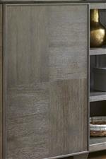 Alternating Oak Veneers Create Intriguing Checkered Panels