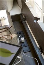 Built in Outlets Offer Modern Function