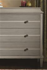 Reeded Drawer Fronts Add Texture