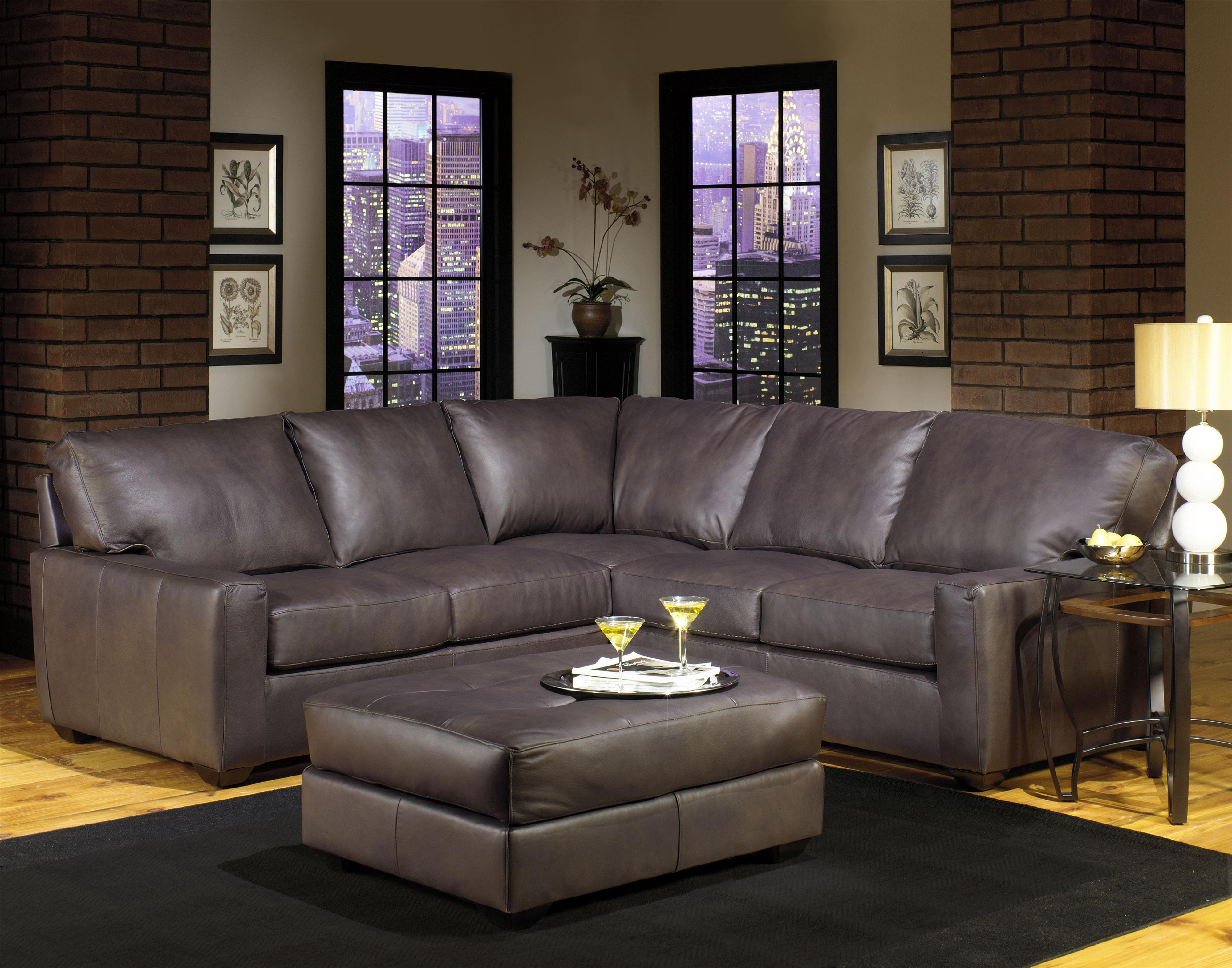 USA Premium Leather Sectionals