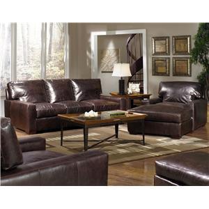 Usa Premium Leather 9955 Leather Sofa Olinde 39 S Furniture Sofa
