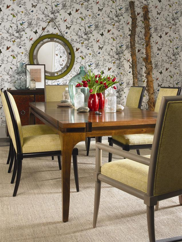Vanguard Furniture Thom Filicia Home Collection Greek Peak Contemporary  Dining Arm Chair   Sprintz Furniture   Dining Arm Chairs Nashville,  Franklin, ...