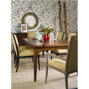 Vanguard Furniture Thom Filicia Home Collection Franklin Square Contemporary Dining Side Chair