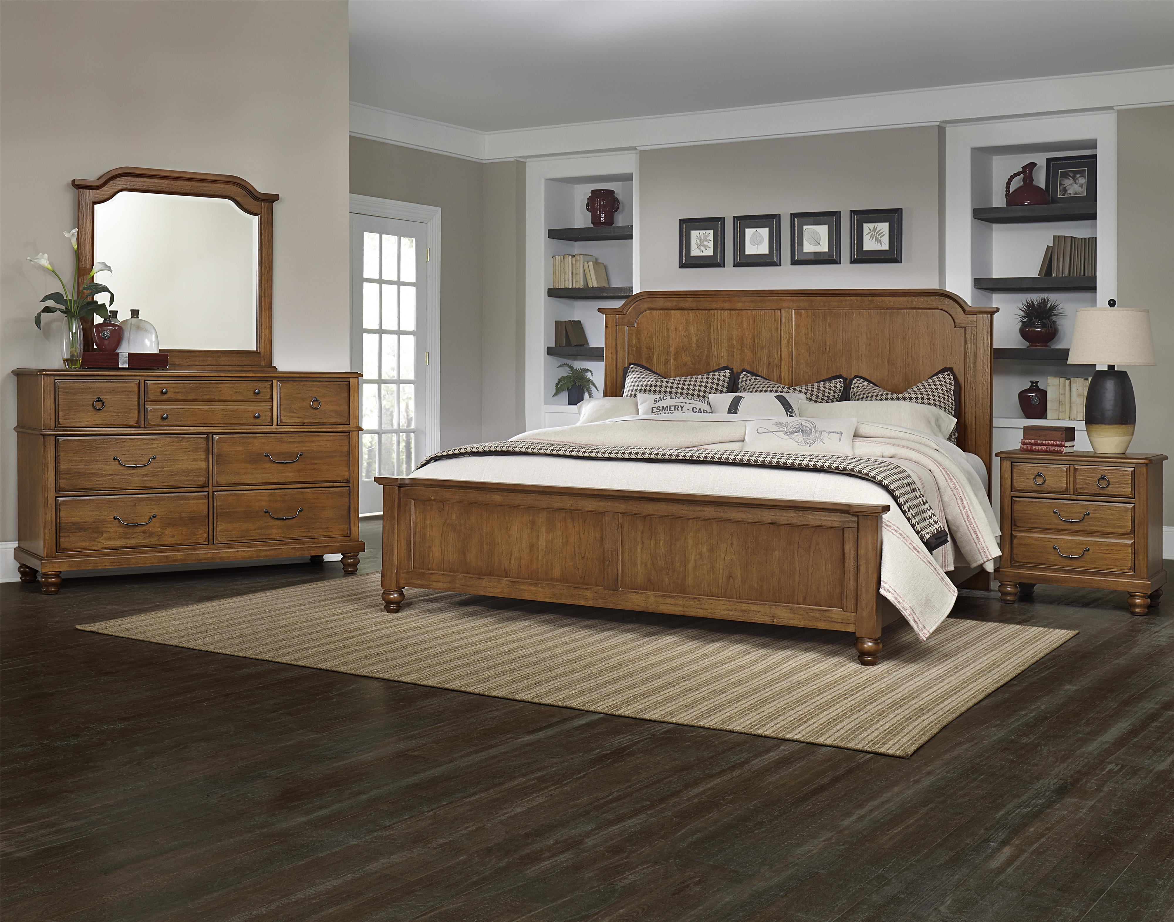 Vaughan Bassett Arrendelle Queen Bedroom Group - Item Number: 440 Q Bedroom Group 1