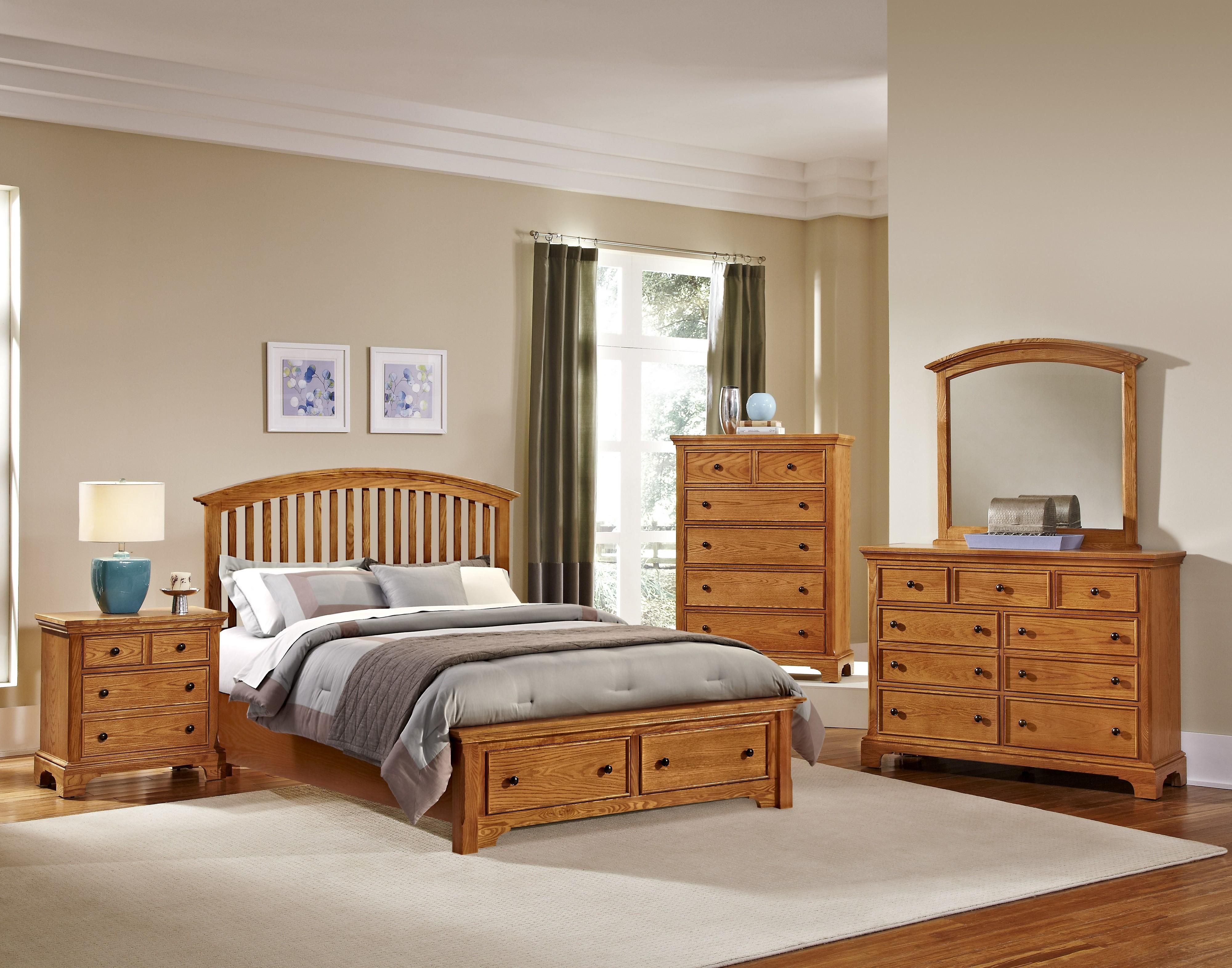Vaughan Bassett Forsyth Queen Bedroom Group - Item Number: BB75 Q Bedroom Group 4