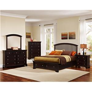 Vaughan Bassett Forsyth King Bedroom Group